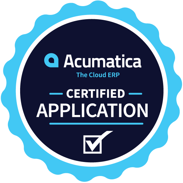 Acumatica Certified Application Badge