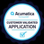 Acumatica Customer Validated Badge