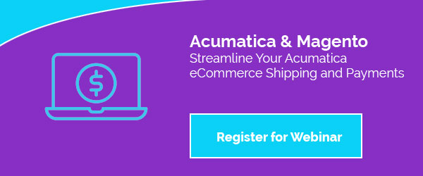 Streamline Your Acumatica eCommerce Shipping and Payments